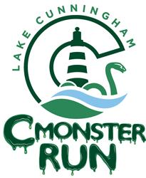 c monster run logo